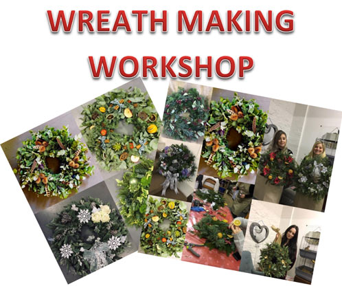 Wreath Making Workshop 2019